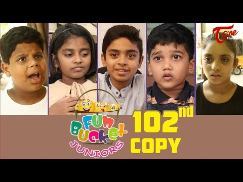 Fun Bucket JUNIORS | Episode 102 | Kids Funny Videos | Comedy Web Series | By Nagendra K | TeluguOne