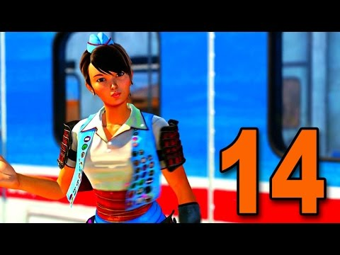 Sunset Overdrive - Part 14 - Asian School Girl Kicks Ass (Let's Play / Walkthrough / Gameplay)
