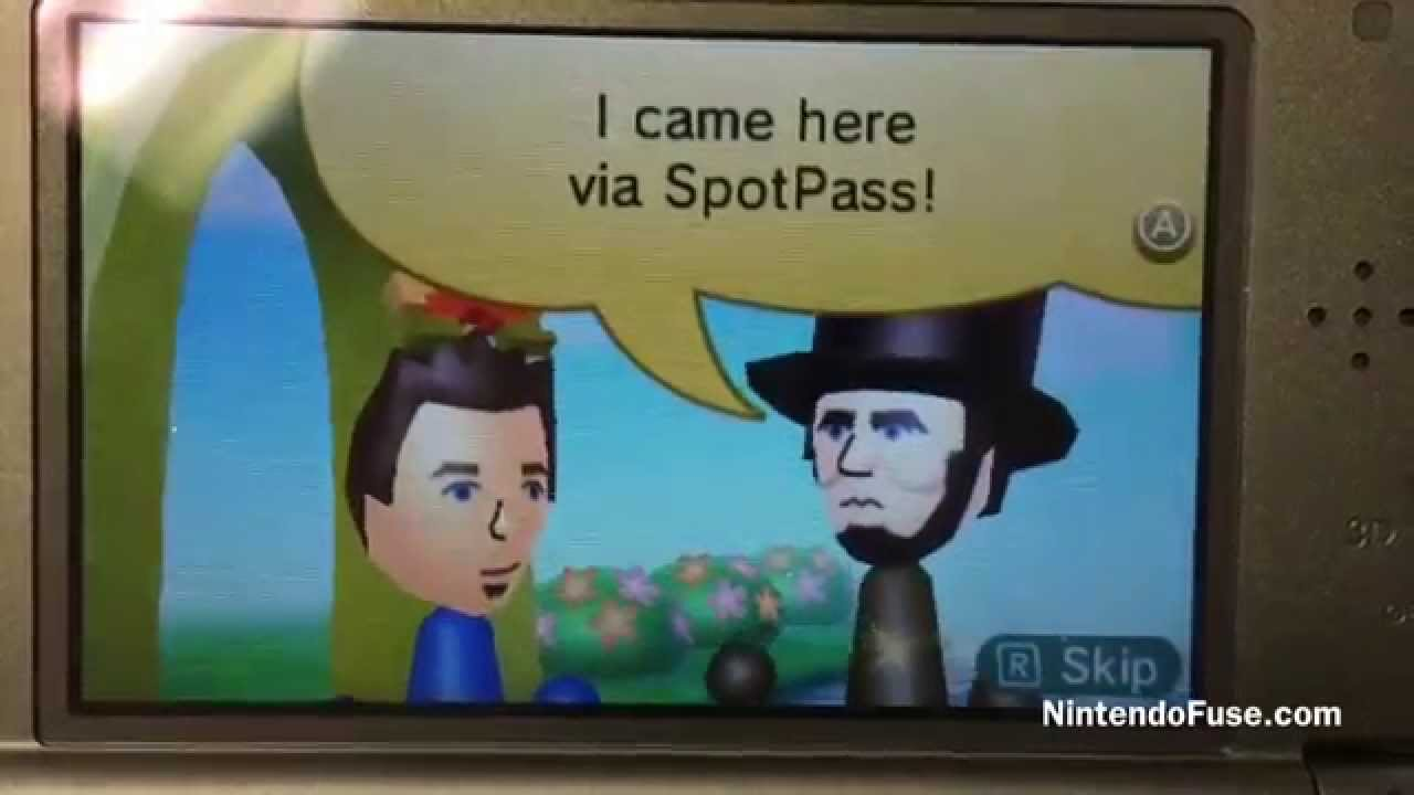 Honest Abe Visits Our Nintendo 3ds Youtube