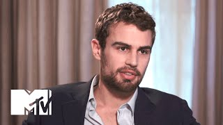 Theo James Talks About Sex Scenes w/ Shailene Woodley in 'Insurgent' | MTV News