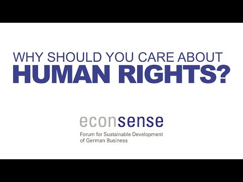 Why Should Your Company Care About Human Rights?