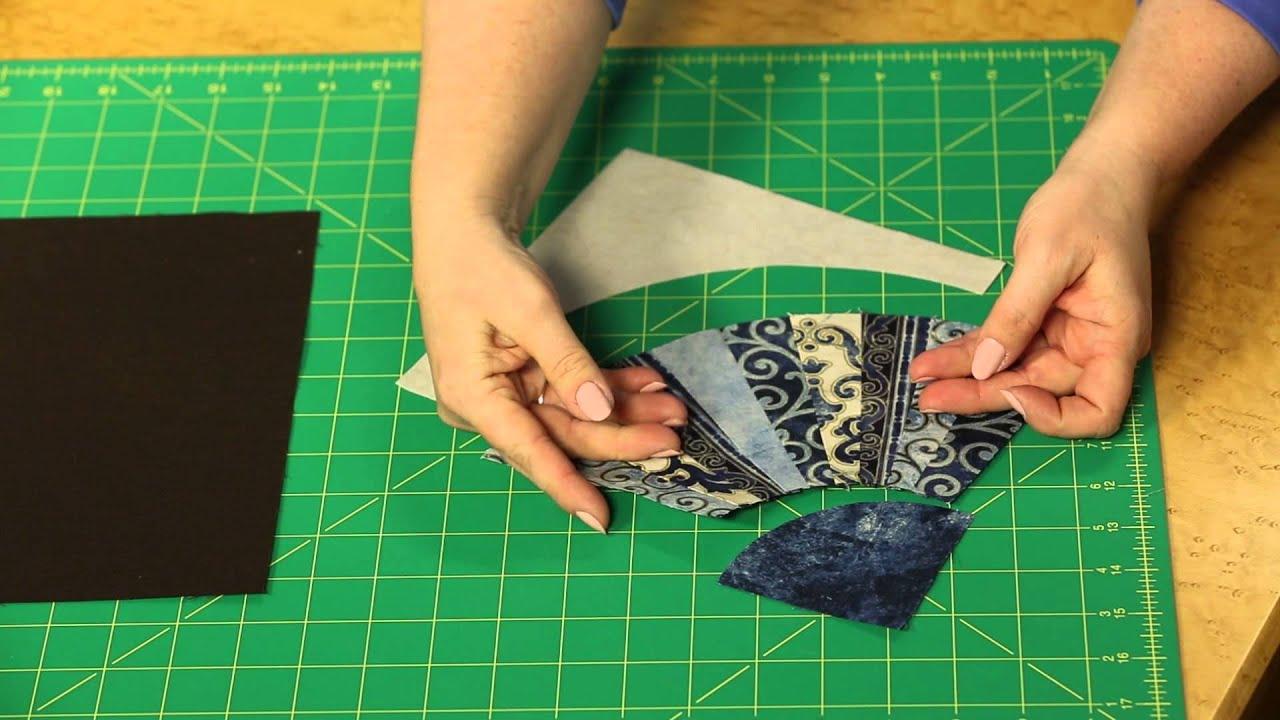 fons porter small fan template set for small fan quilt blocks