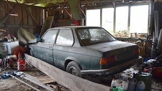 Starting BMW E21 After 10 Years + Test Drive видео