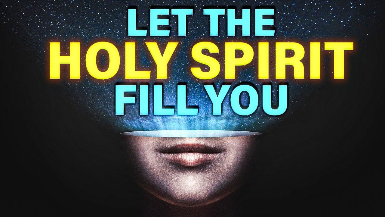You Need The Holy Spirit In Your Life !