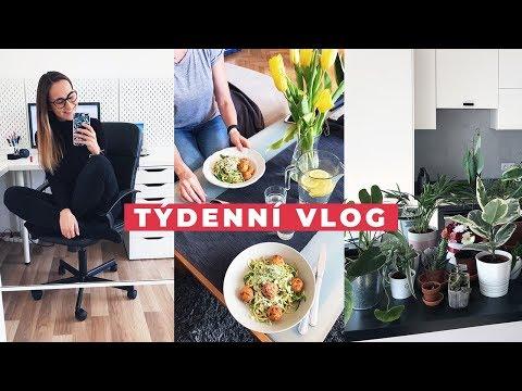 TÝDENNÍ VLOG #18 | Novinky v bytě, tipy na jednoduchá jídla a hory!
