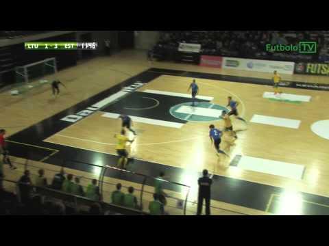 Lietuva 7:3 Estija: įvarčiai (Futsal Baltijos taurė; 2014-12-05)