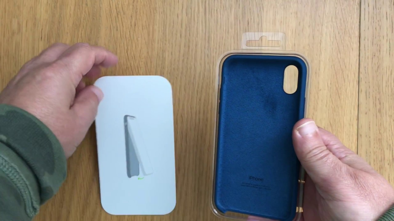 new style b11fc b589d iPhone X Silicone Case Unboxing