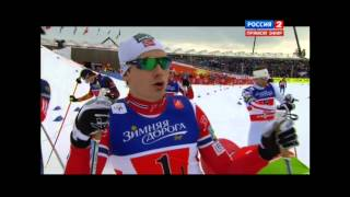 World Championship Falun 2015 Cross Country Skiing Finals Team Sprint Free Ladies & Men