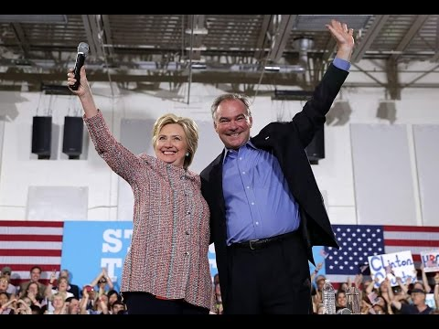 Hillary Clinton, Tim Kaine campaign rally in Miami
