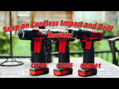 Snap-on 14.4volt Cordless Drill and Impacts...Should You Buy?