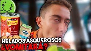 CREANDO y PROBANDO los helados MAS ASQUEROSOS 🤢 parte 2   Miguelendi