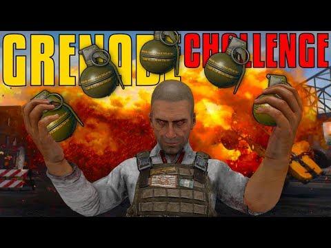 The Grenade Challenge  PUBG