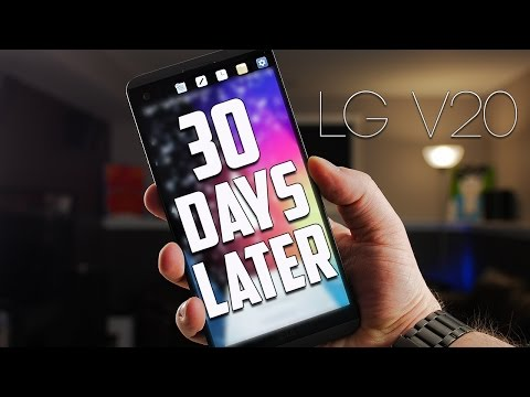 LG V20 One Month Later | Is It Worth It? [4K]