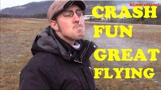 Crash with a happy face - Top fun - RingebuRC