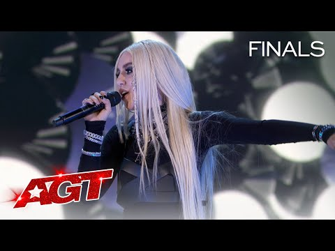 """Ava Max and Daneliya Tuleshova Sing """"Kings and Queens"""" - America's Got Talent 2020"""