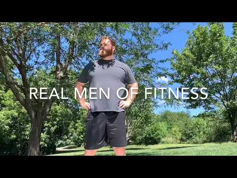 Real Men of Fitness Mr. Sweats Too Much at the Gym