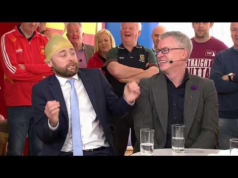 Joe Brolly meets Joe Brolly on The Sunday Game Live