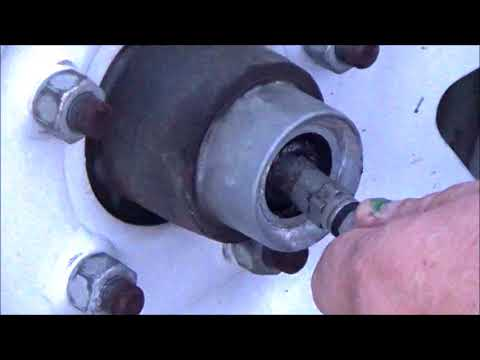 DEXTER AXLE E-Z LUBE SYSTEM / LAWN MOWER TRAILER BEARING / HOW TO RE-PACK