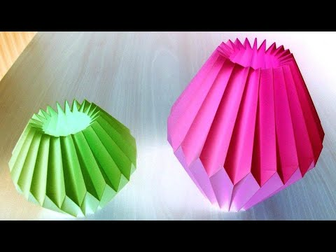 Paper lamp making very easy and simple idea / homemade lamp for home decorations and ornaments craft