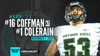HS Football | Dublin Coffman at Colerain [PLAYOFFS] [11/7/15]