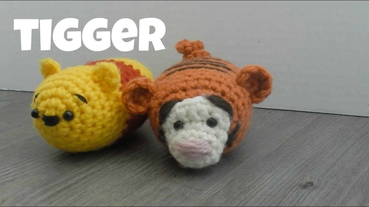 Amigurumi Olaf Tutorial : Amigurumi 'tigger' winnie the pooh tutorial youtube