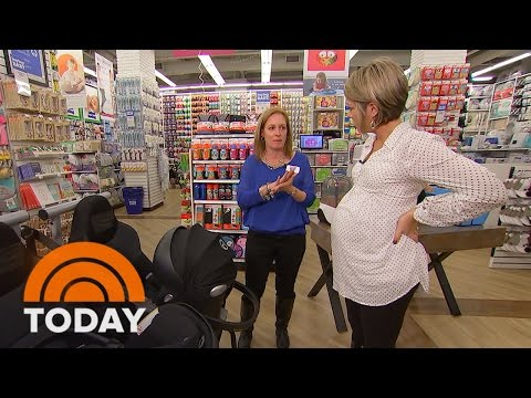 Dylan Dreyer Shops For The Essential Items She Needs For Her Baby | TODAY