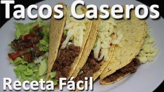 Como Hacer Tacos Caseros De Carne - Tacos Mexicanos Receta Colombiana Facil