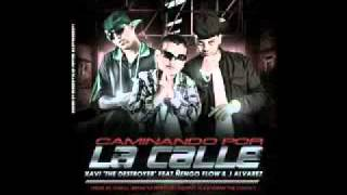 Download Xavy The Destroyer Ft J Alvarez, Ñengo Flow   Caminando por la calle  Offial  Remix Letra MP3 song and Music Video
