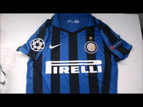 [UNBOXING] Inter Milan 16 home player jersey