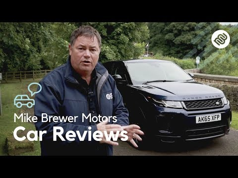 Range Rover Evoque Review Mike Brewer Motors