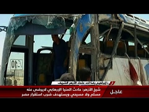 Gunmen attack bus carrying Coptic Christians in Egypt, kill 23