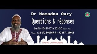 Questions & Réponses #14 - Dr. Mamadou Oury - radio laawolkisal