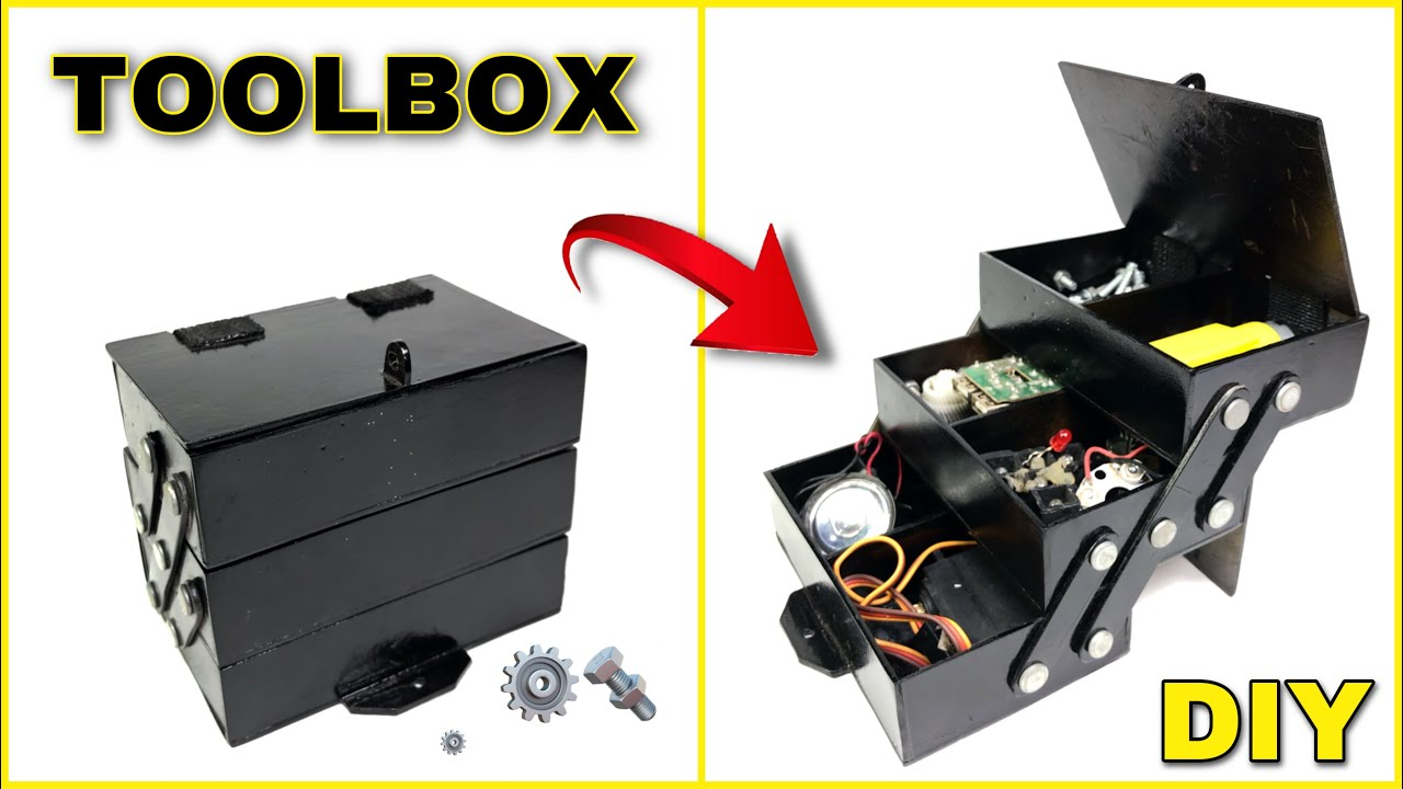 Download how to make toolbox || DIY homemade Toolbox @Smart Creative