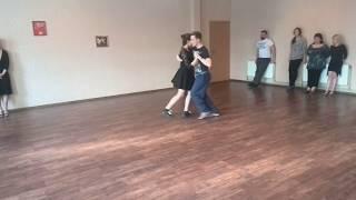 Уроки танго в Николаеве. Идея о беспрерывном движении для вальса. 2017год