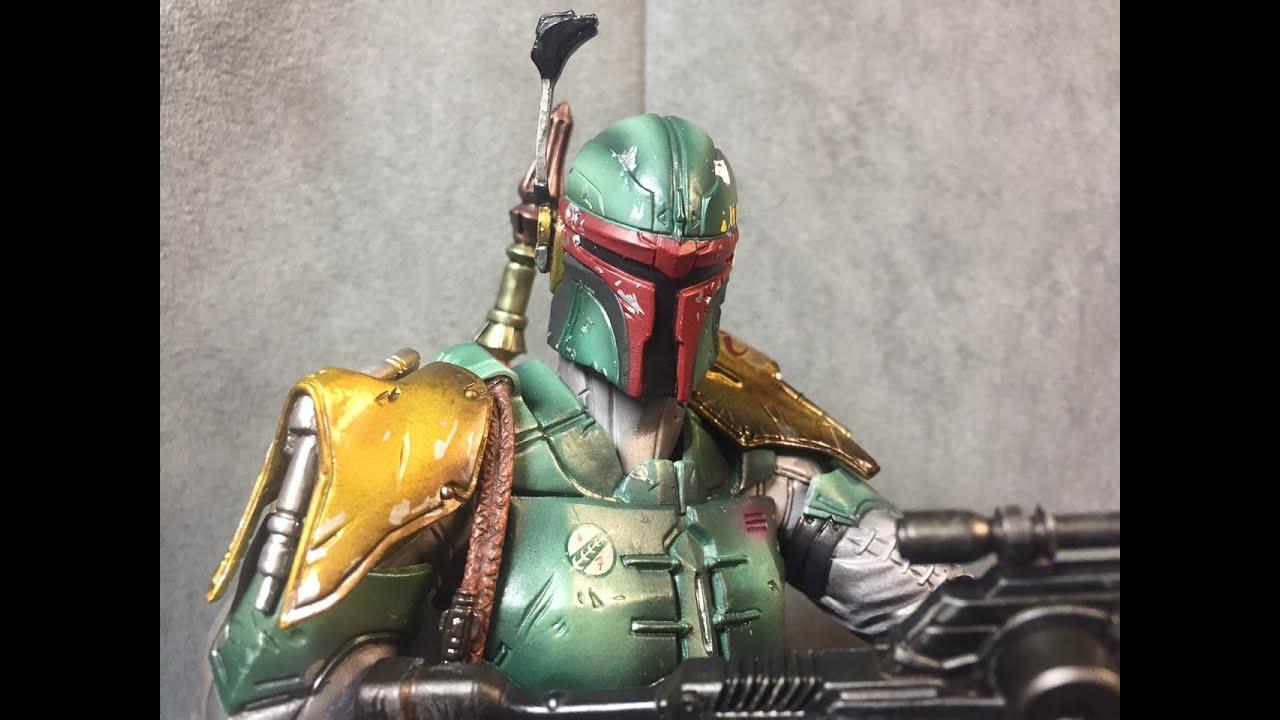 SquareEnix Star Wars Boba Fett VARIANT Play Arts Kai Action Figure New in Box