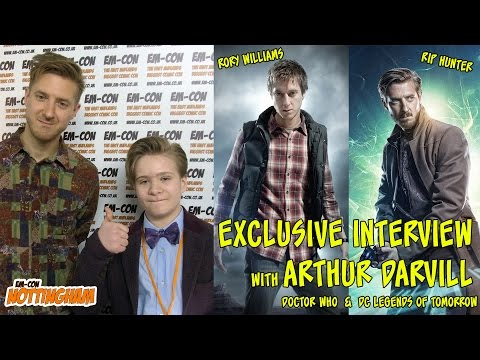 Arthur Darvill Interview. Rory Williams - RIP Hunter - Doctor Who - DC Legends of Tomorrow