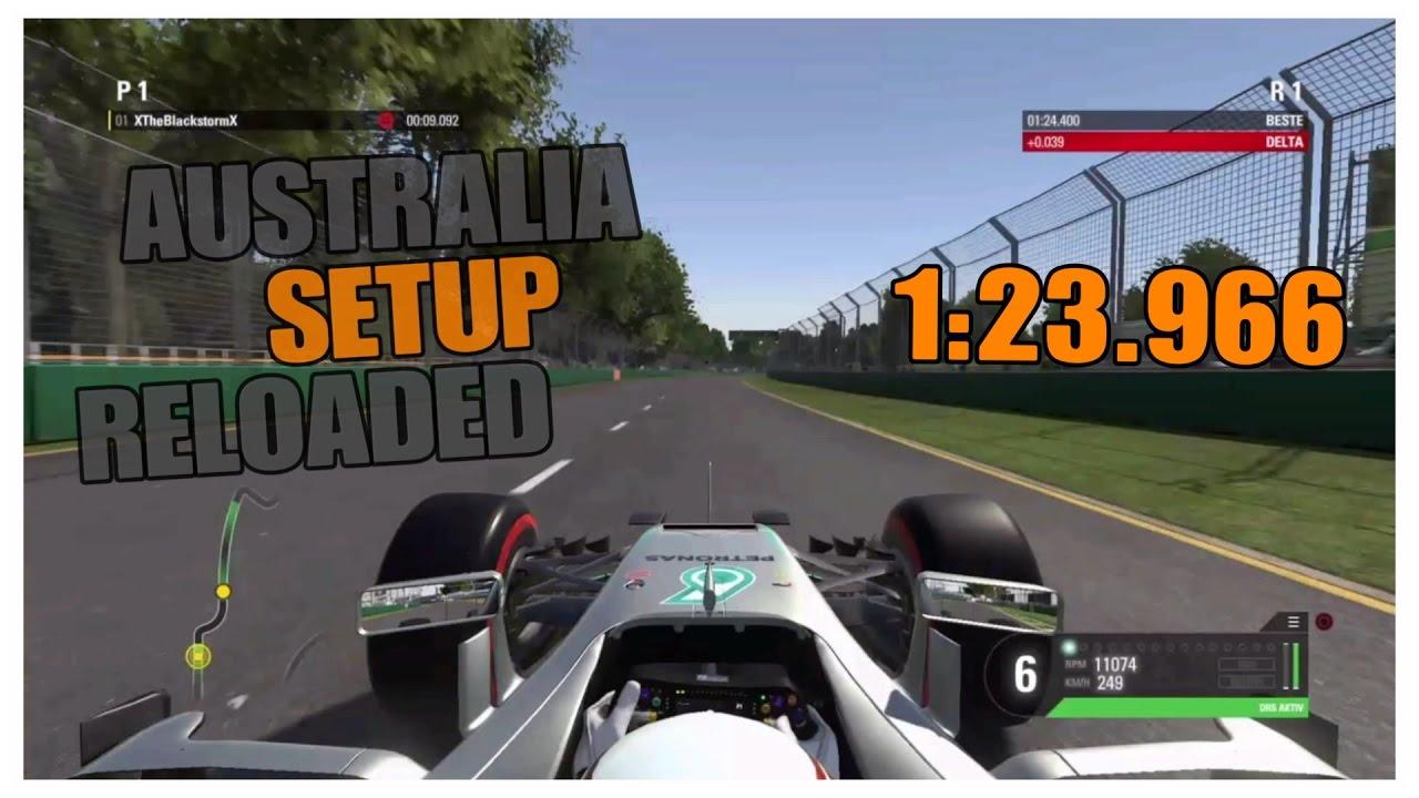 F1 2016 Australia Reloaded Melbourne 123966 Setup Ps4
