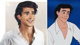 Disney Karakterleri Gerçek Olsaydı