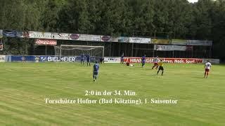 Zusammenfassung Landesliga Spiel FC Bad Kötzting gg SV Etzenricht 4. Spieltag