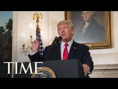 President Trump Condemns White Supremacists Two Days After Charlottesville Violence | TIME