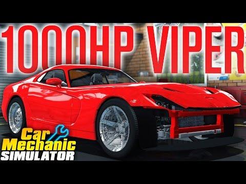 STUPID 1000HP+ LAMBORGHINI/VIPER... THING | Car Mechanic Simulator 2015