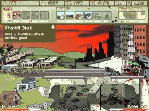 Flashки (Флеш игры) #3.Зомби и парк трейлеров.
