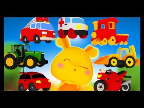 Apprendre les véhicules et les transports en français - Titounis Découverte -  Vroum vroum Touni