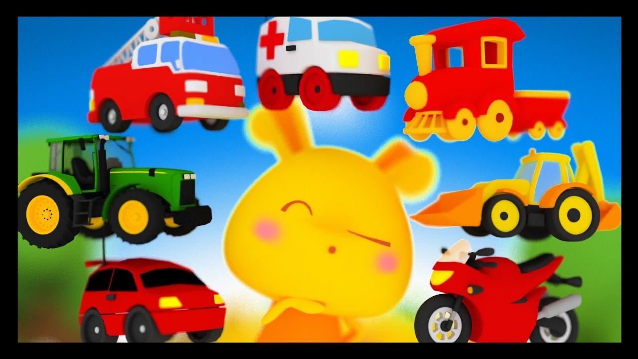 Apprendre Les Vehicules Et Les Transports En Francais Titounis