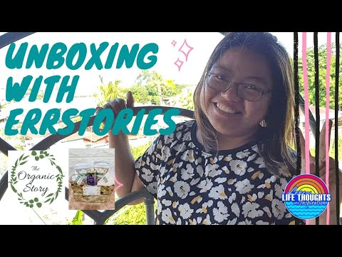 UNBOXING | The Organic Story PH | Kwentuhan with Dad