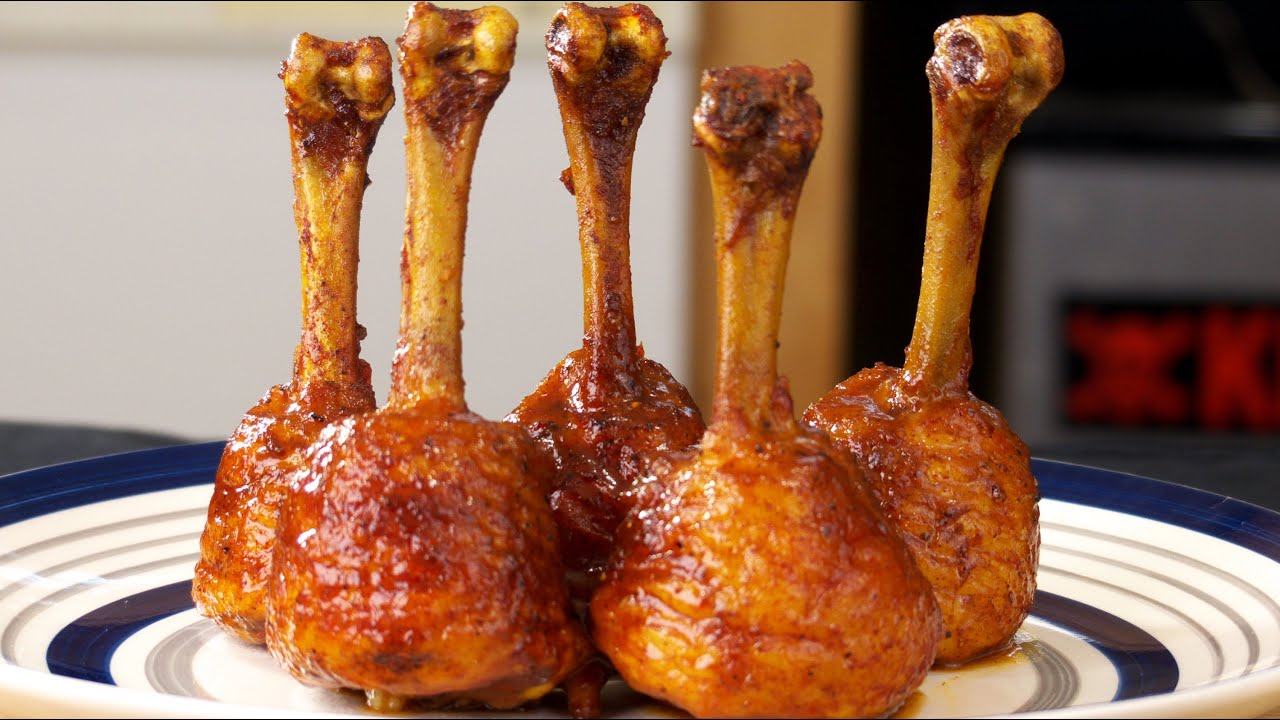 Smoked Chicken Lollipops