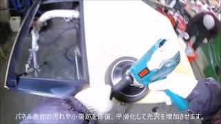 自動車中古部品 鶴岡 トヨタパッソ リア左ドア磨き点検 凹みポン付け交換修理にリサイクルパーツ!