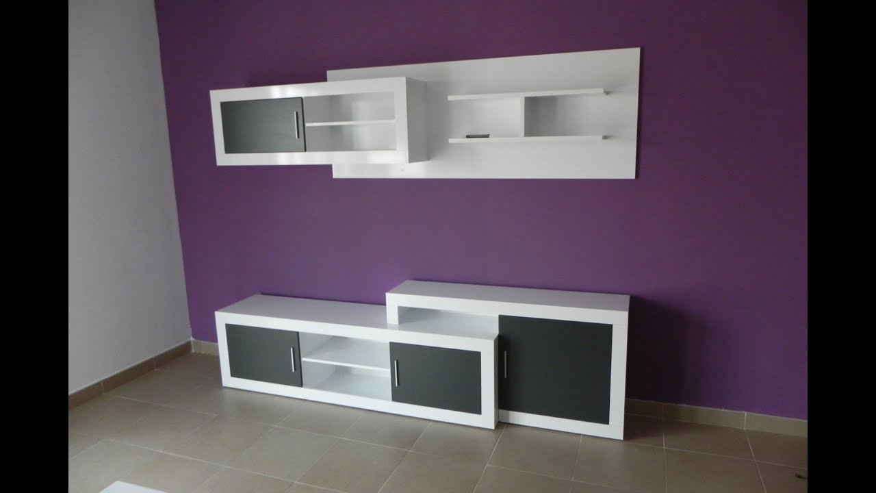 mueble de comedor modular modulos color blanco grafito ref youtube