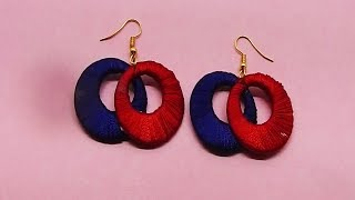 DIY Earrings Latest Simple & Unique Designs | Best Of Waste Earrings jewelry designs For Girls