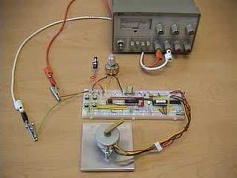 Stepper motor pic based position and speed controller for Stepper motor position control